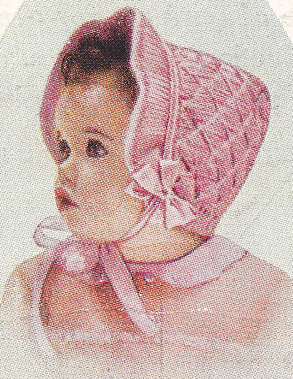 Baby Bonnet Knitting Pattern : Vintage Knitting PATTERN to make Baby Toddler Smocked Bonnet Angora KnitSmock...
