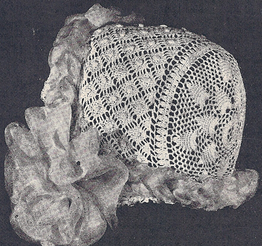 Vintage Antique Crochet PATTERN to make Baby Cap Hat ...