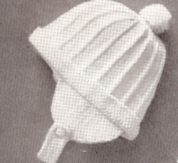 Baby Boy Set Hat Sweater Booties Knitting Pattern Vntg Baby Boys