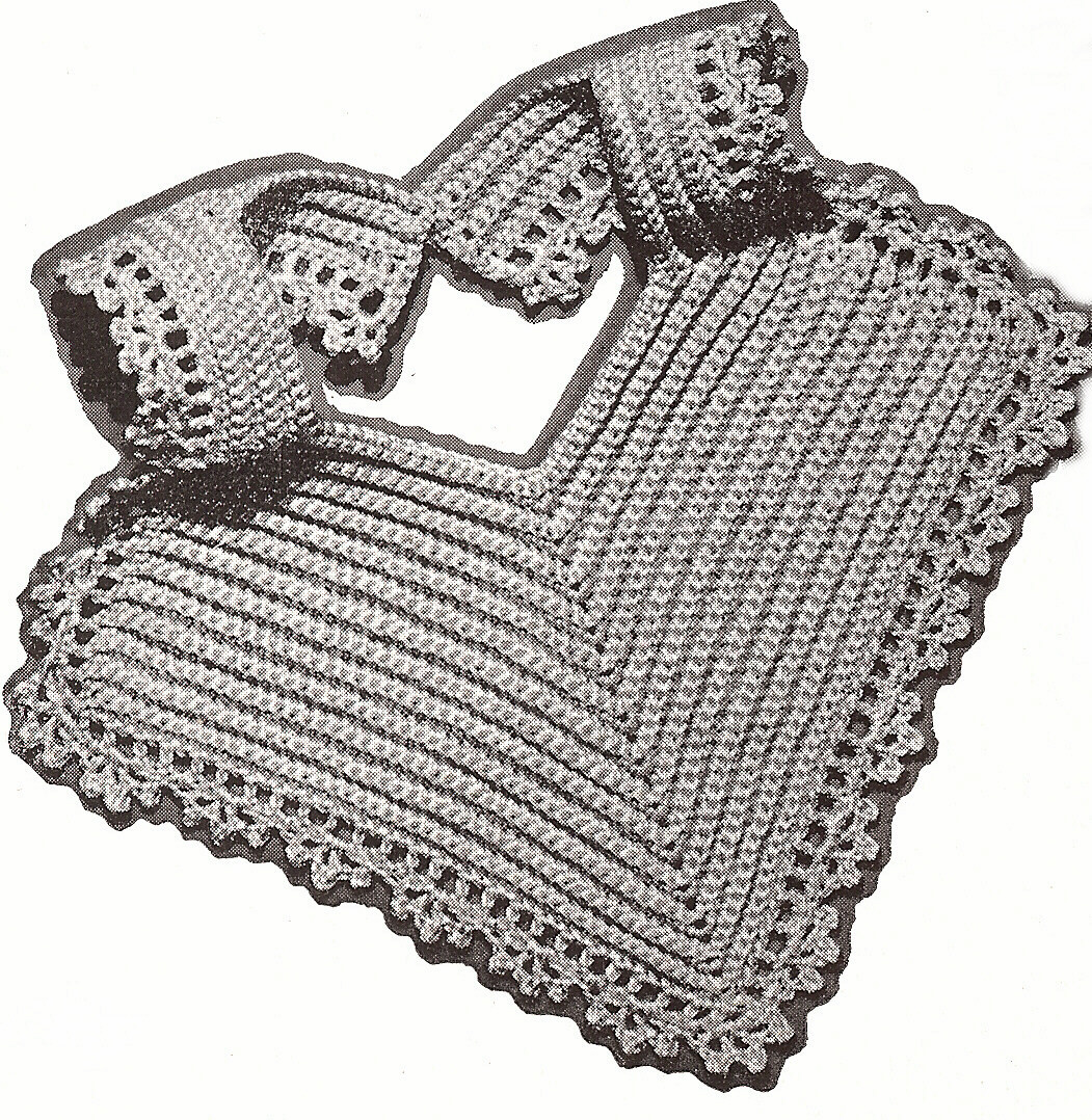 Bernat Crochet Baby Bib Pattern : CROCHETED BABY BIB PATTERN - Crochet Club