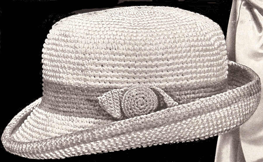 Hats From the Past - - Crochet -- All About Crocheting -- Free