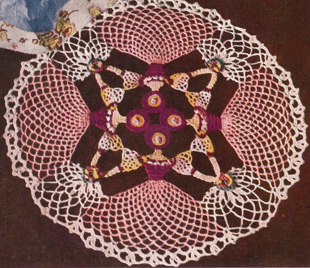 Free Crochet Lady Doily Patterns ~ manet for .