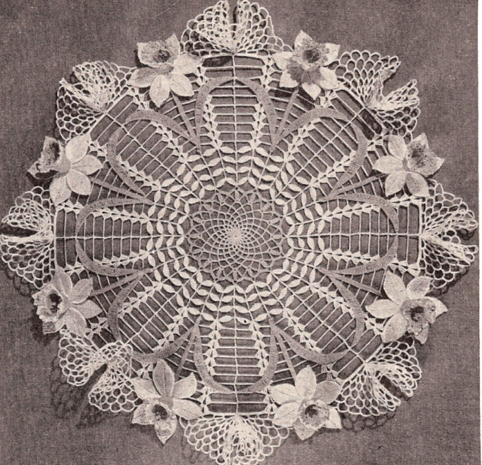 Crochet Holiday Doily Patterns