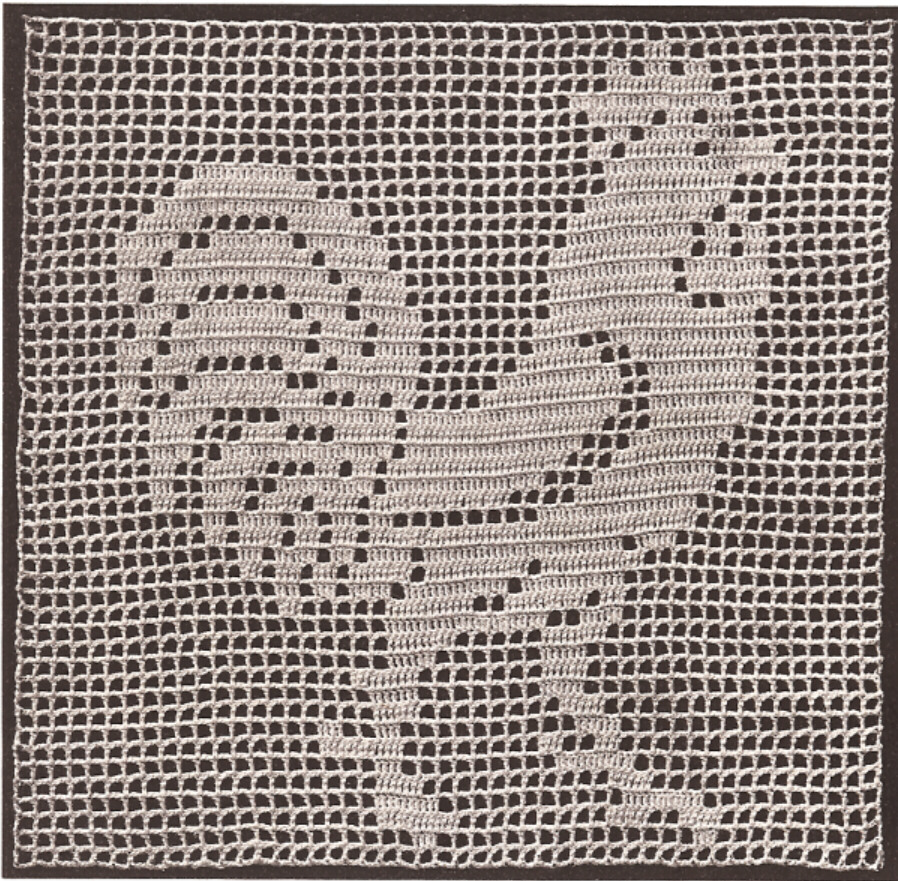 Filet Crochet Doily Pattern Free Patterns Pictures to pin on Pinterest