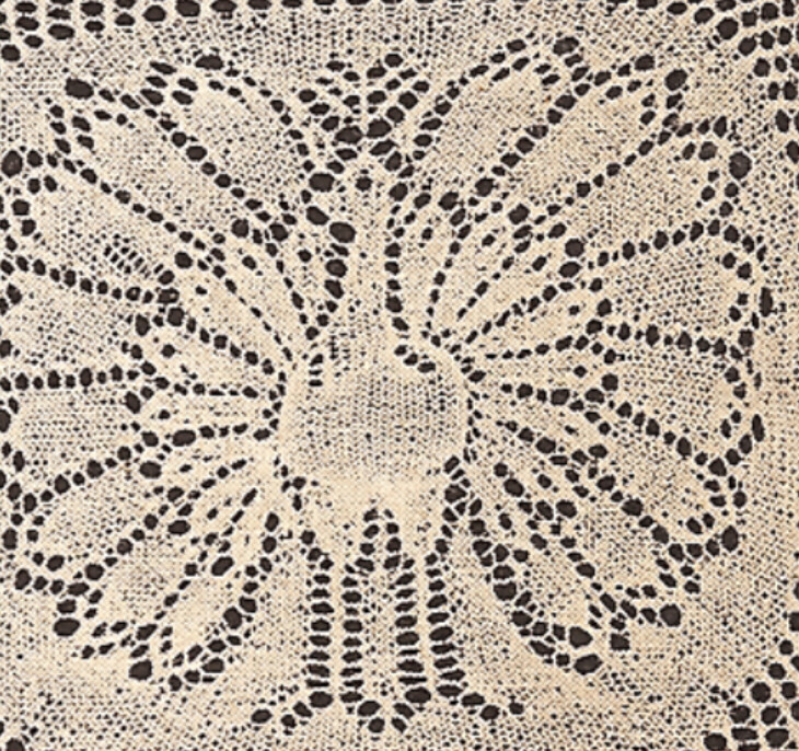 Knitting Patterns Lace Doilies : Vintage Knitting PATTERN to make Lace Doily Peacock/Turkey ...