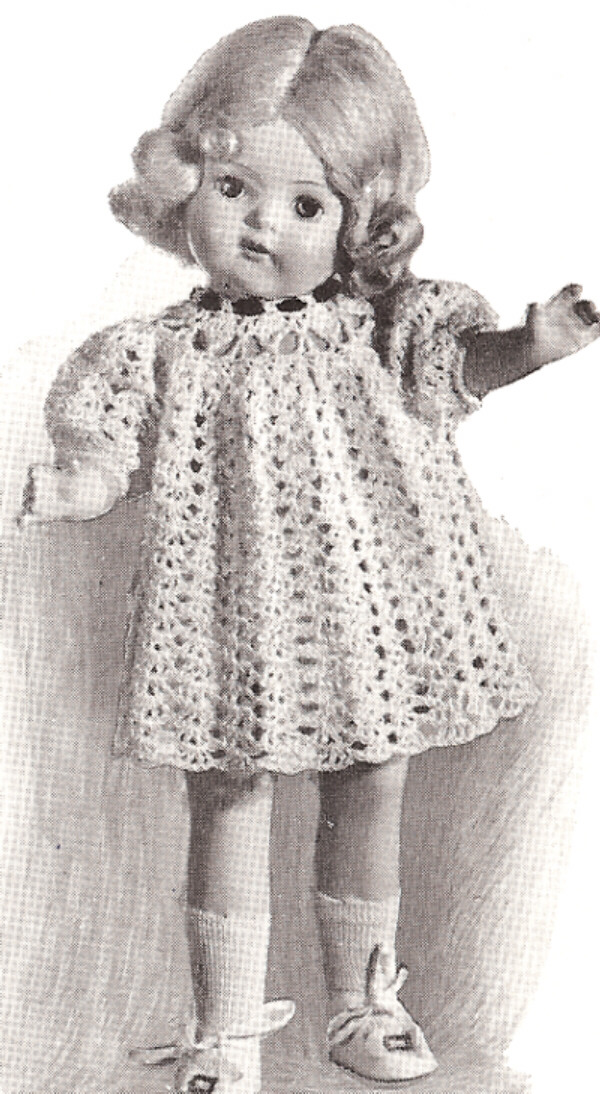 Crochet Doll Clothes - Crochet Patterns