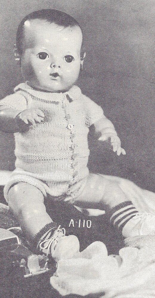 Knitting Pattern Boy Doll : Knitting PATTERN 14
