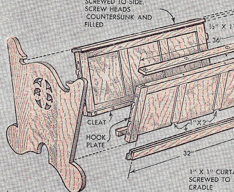 Free Woodworking Plans Baby Cradle