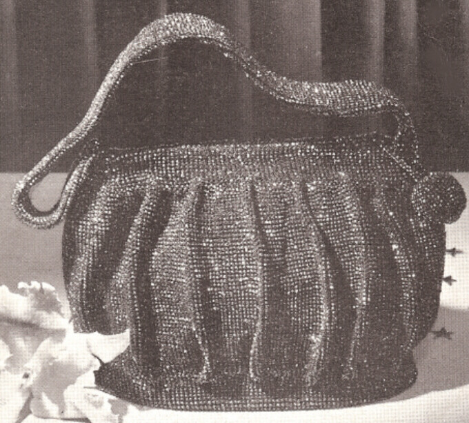 Vintage 30s shell bag crochet pattern | Flickr - Photo Sharing!