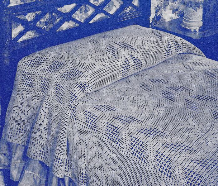 Free Crochet Rose Bedspread Pattern Theitfo For
