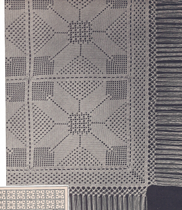 Filet crochet bedspread pattern crochet and knitting patterns vintage filet crochet patterns crochet learn how to crochet dt1010fo
