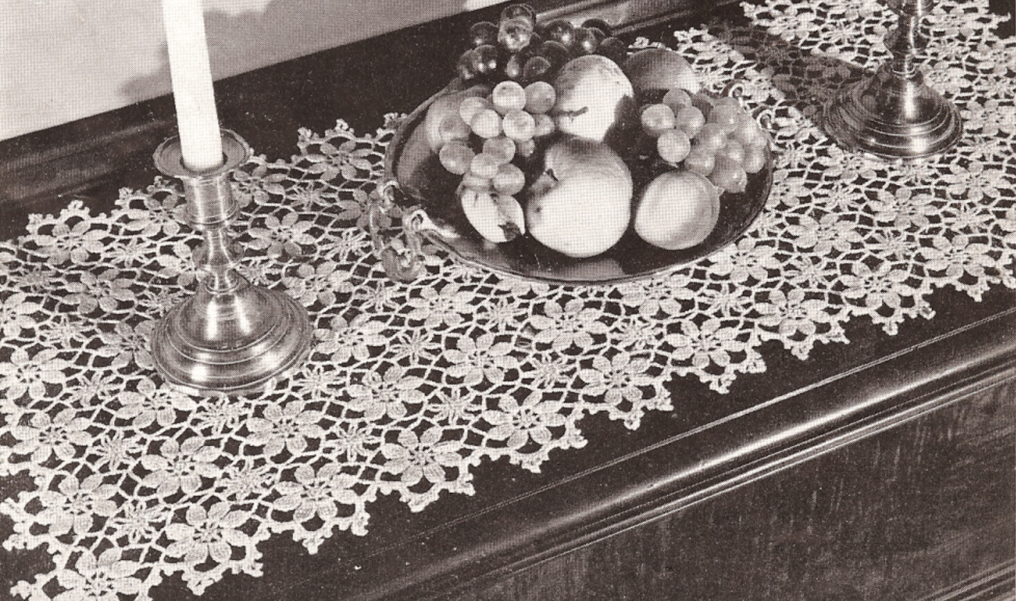 Crochet pattern motif block daisy flower tablecloth ebay categories bankloansurffo Choice Image