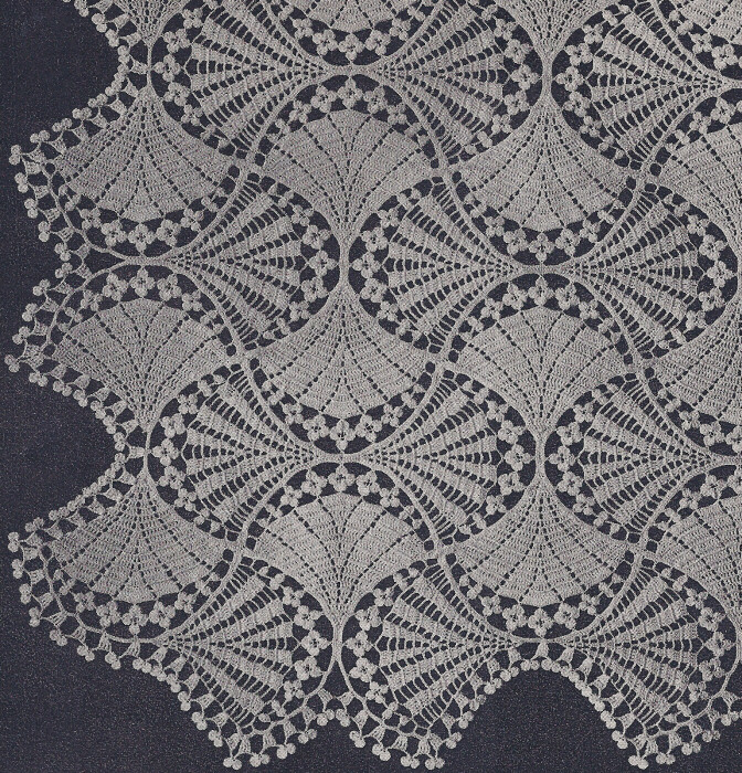 Crochet Patterns Vintage : Details about Vintage Crochet PATTERN to make Fan Flower Bedspread ...