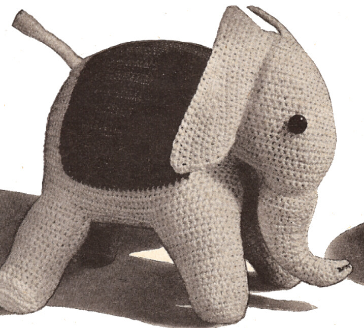 Stuffed Animals Vintage Patterns PDF Download - KarensVariety.com