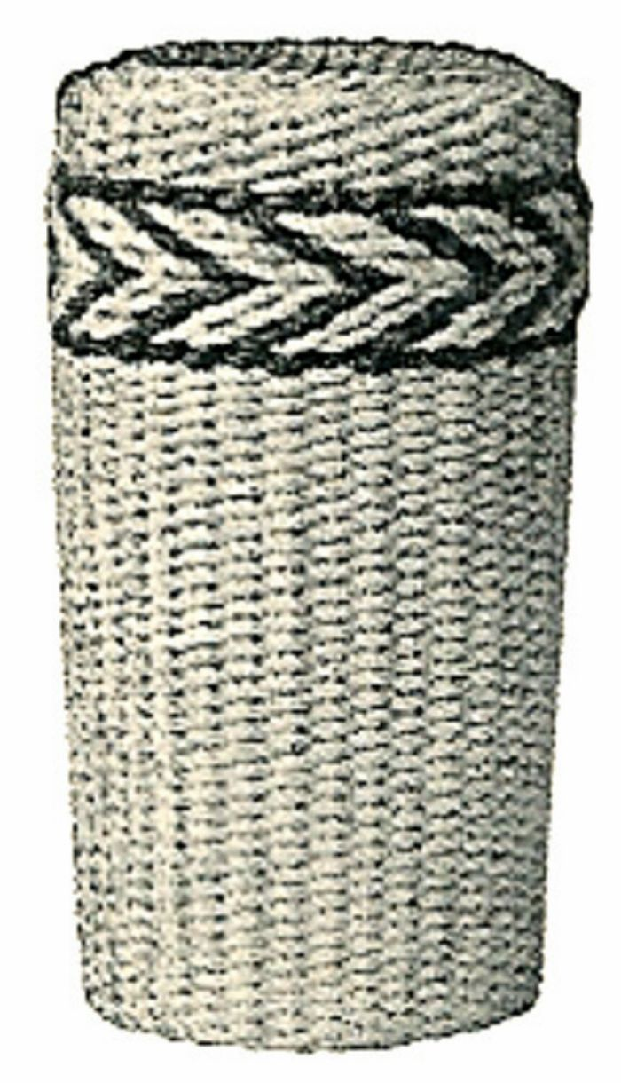 How To Weave A Basket With Rope : Weaving paper rope dennison basket making lampshades